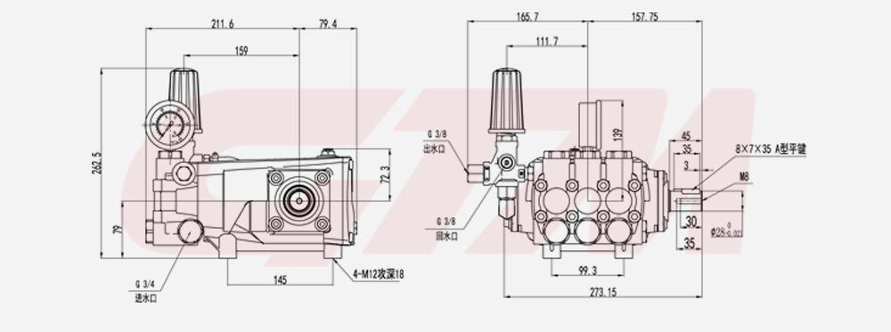 High Pressure Pump GPW series