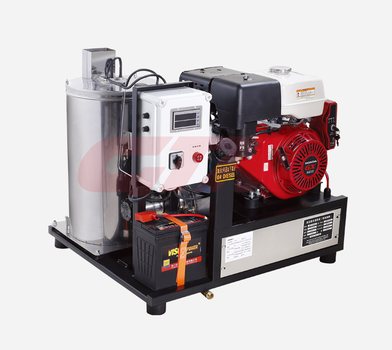High pressure hot water washer