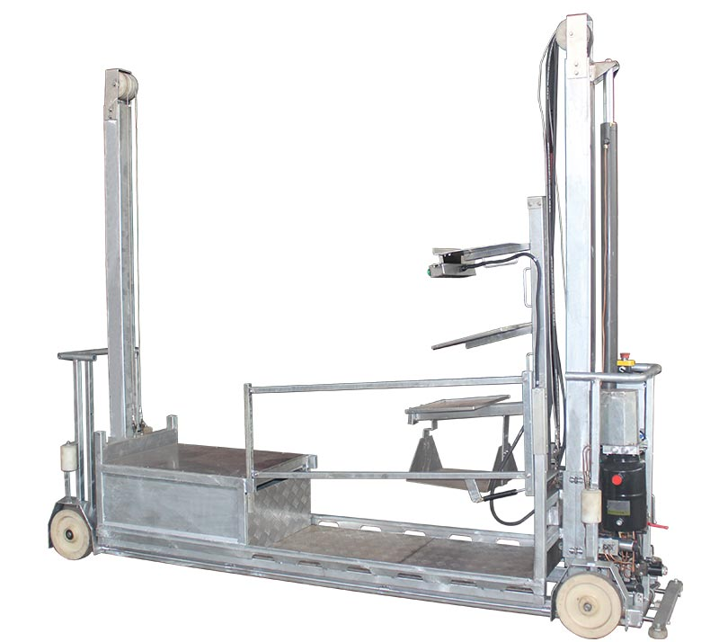 Electric  picking lorry